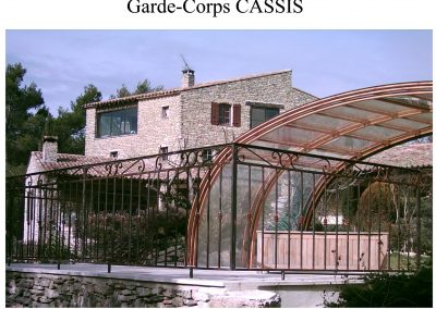 garde corps cassis